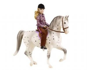 Lets Go Riding English Spotted Horse Set