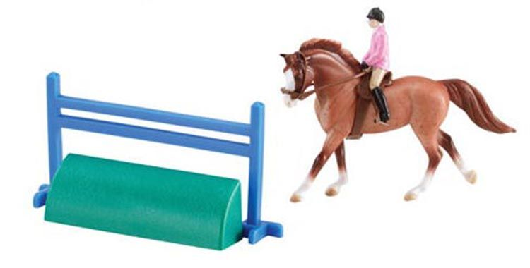 Horse and Rider Set - Chestnut